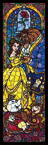 Tenyo Japan Jigsaw Puzzle DSG-456-732 Disney Beauty and the Beast (456 Small Pieces)