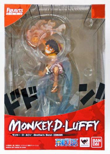 Bandai Figuarts ZERO One Piece Monkey D. Luffy Brother's Bond Figure