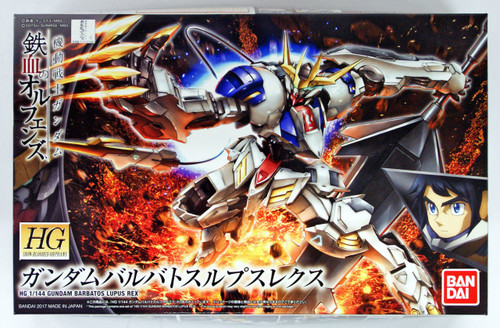 Bandai Iron-Blooded Orphans 033 Gundam BARBATOS LUPUS REX 1/144 scale kit