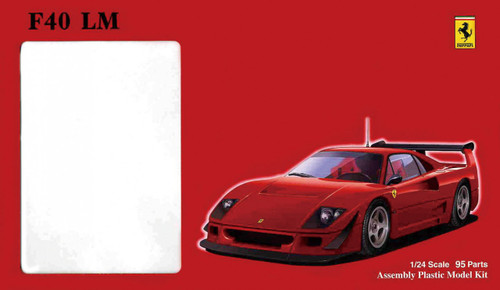 Fujimi HR19 Ferrari F40LM 1/24 Scale Kit