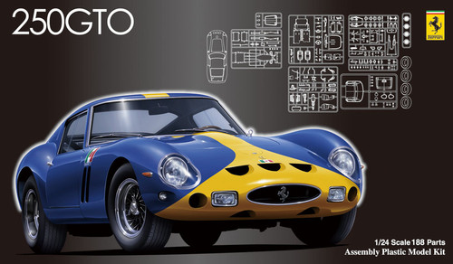 Fujimi HR22 Ferrari 250GTO 1/24 Scale Kit