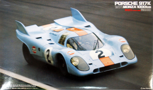 Fujimi HR25 Porsche 917K Monza 1971 Winner 1/24 Scale Kit