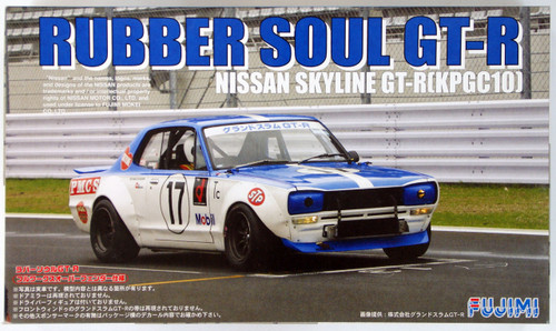 Fujimi HR28 KPGC10 Skyline GT-R Rubber Soul 1/24 Scale Kit