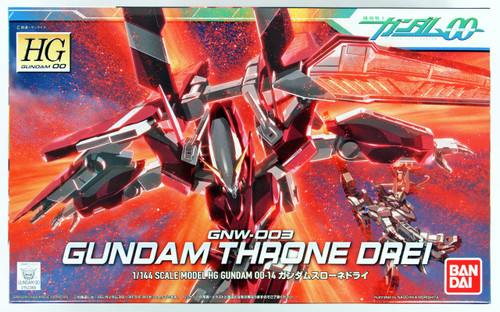 Bandai HG OO 14 GUNDAM THRONE DREI 1/144 scale kit