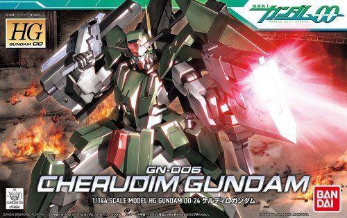 Bandai HG OO 24 GN-006 CHERUDIM GUNDAM 1/144 scale kit