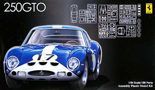 Fujimi HR35 Ferrari 250GTO Le Mans 1962 #17 1/24 Scale Kit
