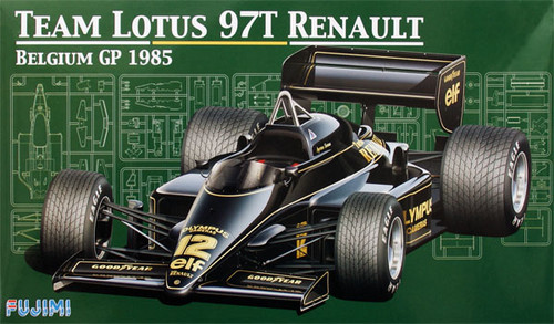 Fujimi GP25 090740 F1 Team Lotus 97T Renault Belgium GP 1/20 Scale Kit