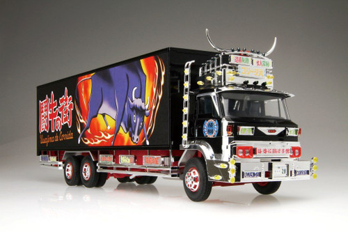 Aoshima 01790 Japanese Decoration Truck Shiina Line Express CORRIDA 1/32 scale kit