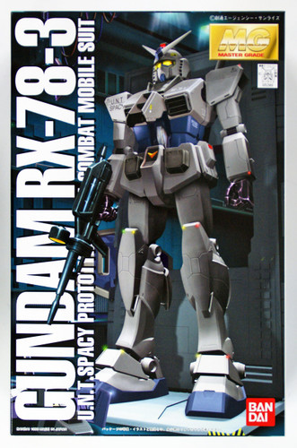 Bandai MG 529691 GUNDAM RX-78-3 Gundam 1/100 scale kit