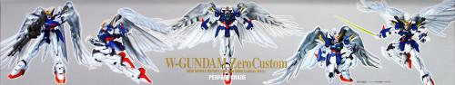 Bandai PG 776590 GUNDAM W-GUNDAM Zero Custom 1/60 scale kit
