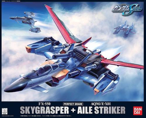 Bandai PG 341013 GUNDAM SKYGRASPER + AILE STRIKER 1/60 scale kit