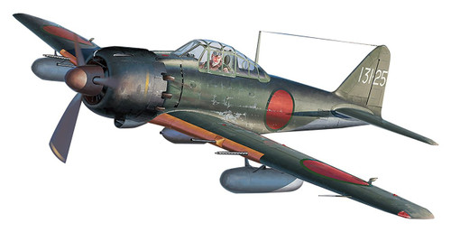 "Hasegawa 07448 Mitsubishi A6M5c/A6M7 Zeri Fighter Type 52 Hei/ Type 62 ""FUYO Unit"" 1/48 scale kit"