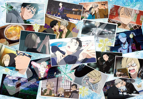 Ensky Jigsaw Puzzle 1000T-41 Japanese Anime Yuri on Ice (1000 Pieces)