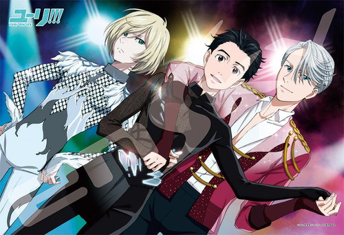 Ensky Jigsaw Puzzle 300-1173 Japanese Anime Yuri on Ice (300 Pieces)