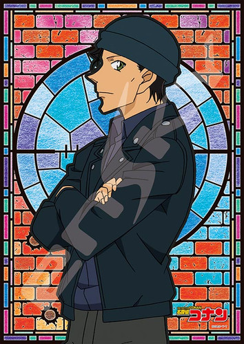 Ensky Art Crystal Jigsaw Puzzle 208-AC43 Shuichi Akai Case Closed (Detective Conan) (208 Pieces)