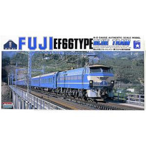 Arii 151822 Electric Locomotive EF66 Fuji 1/80 Scale Kit (Microace)