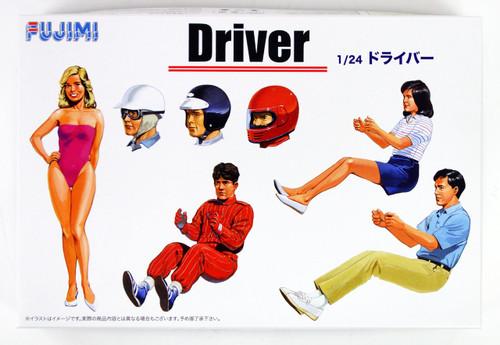 Fujimi GT04 114910 Garage & Tool Series Drivers 1/24 scale kit