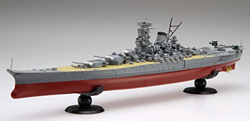Fujimi FUNE NEXT SP1 IJN Battleship Yamato w/ Wooden Deck Sticker 1/700 scale kit