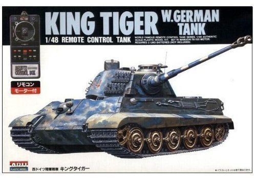 Arii 241035 King Tiger Remote Control Tank 1/48 Scale Kit (Microace)