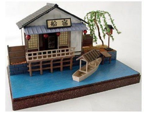 Arii 812082 Japanese Funayado 1/60 Scale Kit (Microace)