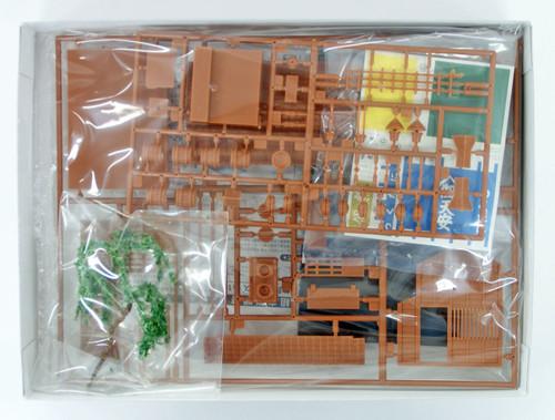 Arii 812167 Japanese Tsukudani Store 1/60 Scale Kit (Microace)