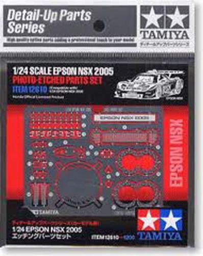 Tamiya 12610 EPSON NSX2005 Photo-Etched Parts Set 1/24 Scale Kit