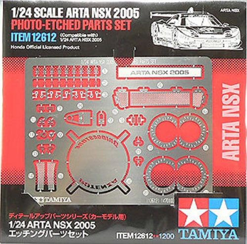 Tamiya 12612 Arta NSX2005 Photo-Etched Parts Set 1/24 Scale Kit