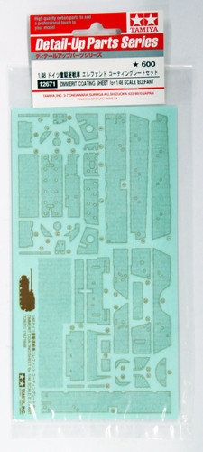 Tamiya 12671 Zimmerit Coating Sheet for German Tank Elefant 1/48 Scale Kit