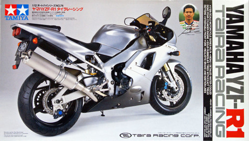 Tamiya 14074 Yamaha YZF-R1 Taira Racing 1/12 Scale Kit