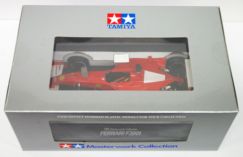 Tamiya 21117 Ferrari F2001 #2 Masterwork Collection 1/20 Scale Kit