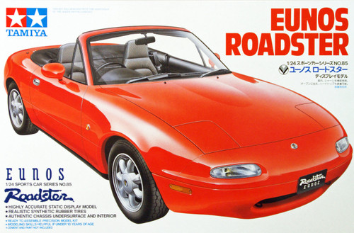 Tamiya 24085 Mazda Eunos Roadster 1/24 Scale Kit