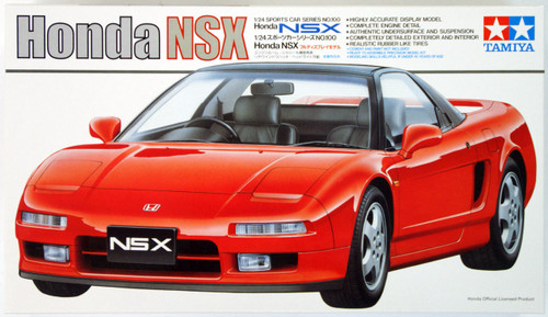 Tamiya 24100 Honda NSX 1/24 Scale Kit