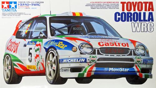Tamiya 24209 Toyota Corolla WRC 1/24 Scale Kit