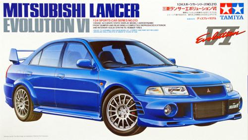 Tamiya 24213 Mitsubishi Lancer Evolution VI 1/24 Scale Kit