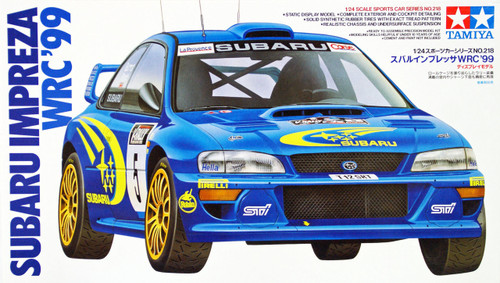 Tamiya 24218 Subaru Impreza WRC '99 1/24 Scale Kit