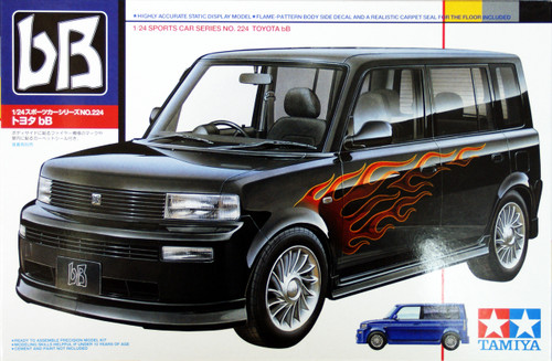 Tamiya 24224 Toyota bB 1/24 Scale Kit
