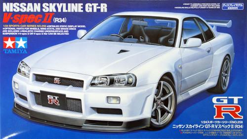 Tamiya 24258 Nissan Skyline GT-R V spec II (R34) 1/24 Scale Kit