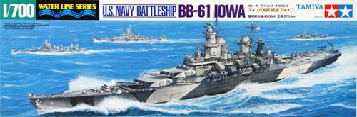 Tamiya 31616 US Navy Battleship BB-61 Iowa 1/700 Scale Kit