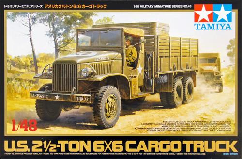 Tamiya 32548 US 2.5 Ton 6x6 Cargo Truck 1/48 Scale Kit