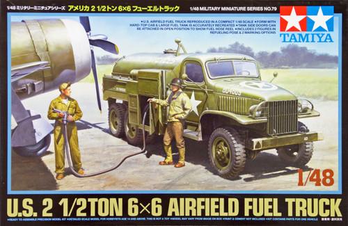 Tamiya 32579 US 2 1/2 Ton 6x6 Airfield Fuel Truck 1/48 Scale Kit