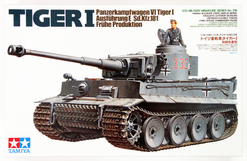 Tamiya 35216 German Tiger I Early Production 1/35 Scale Kit