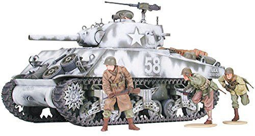 Tamiya 35251 US M4A3 Sherman 105mm Howitzer Assault Support 1/35 Scale Kit
