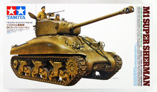 Tamiya 35322 Israeli Tank M1 Super Sherman1/35 Scale Kit