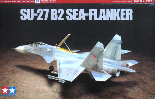 Tamiya 60757 SU-27 B2 SEA-FLANKER 1/72 Scale Kit