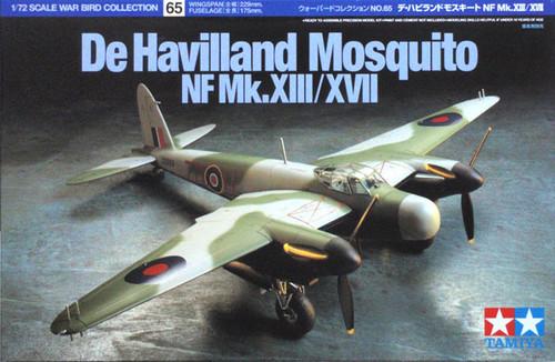 Tamiya 60765 De Havilland Mosquito NF Mk XIII/XVII 1/72 Kit