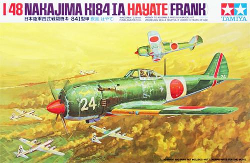 Tamiya 61013 Nakajima KI84-Ia Hayate (Frank) 1/48 Scale Kit