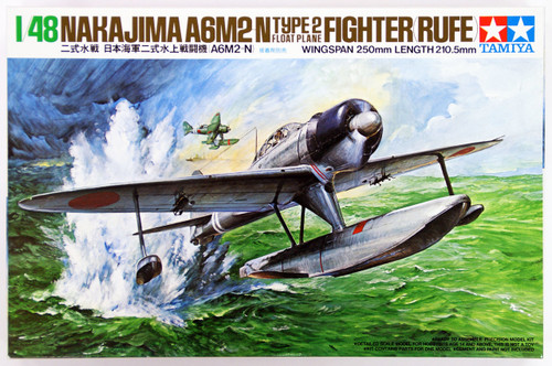 Tamiya 61017 Nakajima A6M2-N Type 2 Fighter (Rufe) 1/48 Scale Kit