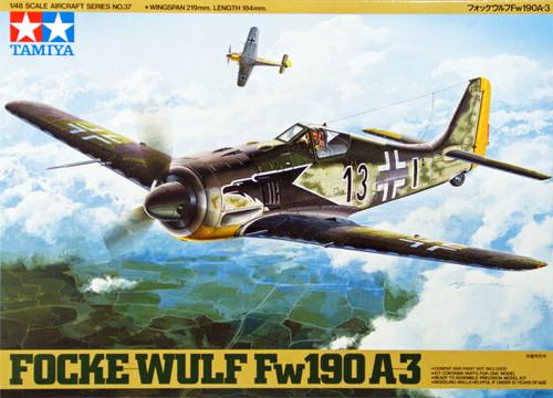 Tamiya 61037 Focke Wulf FW190 A3 1/48 Scale Kit