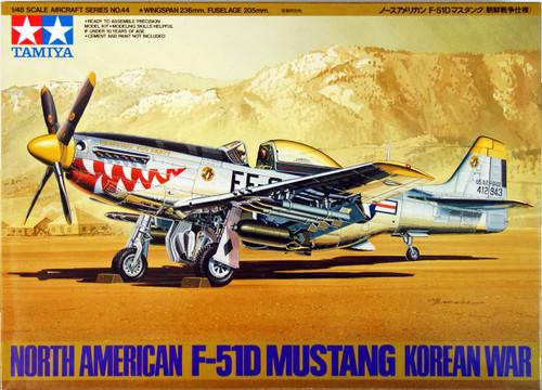 Tamiya 61044 North-American F-51D Mustang Korean War 1/48 Scale Kit