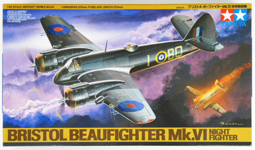 Tamiya 61064 Bristol Beaufighter Mk VI NF 1/48 Scale Kit